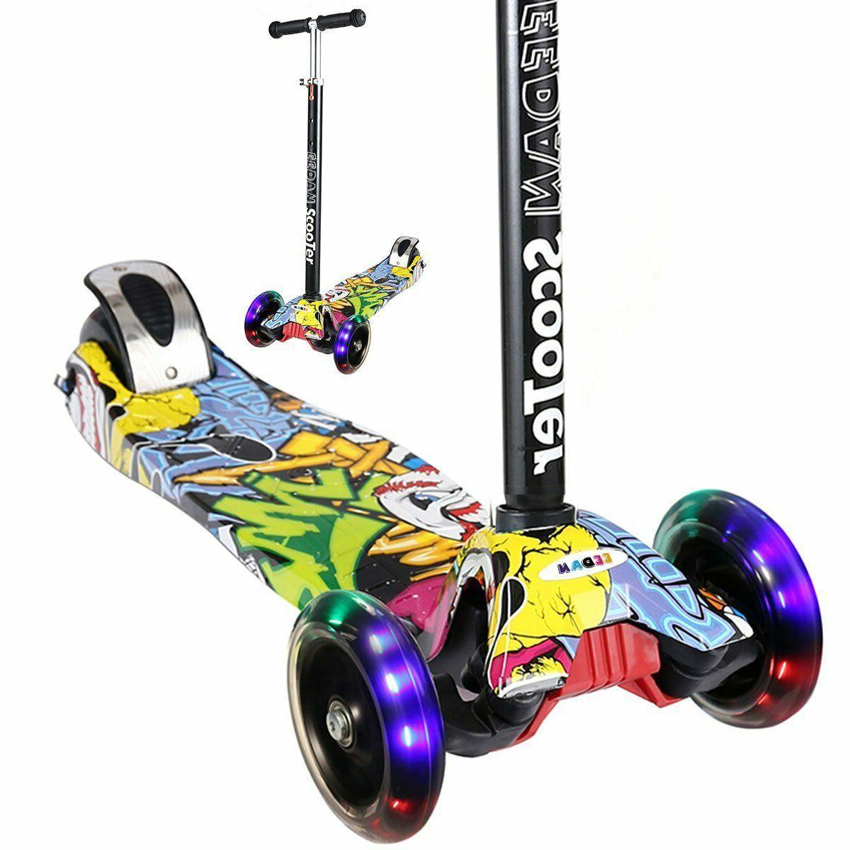 kids 3 wheel t bar adjustable