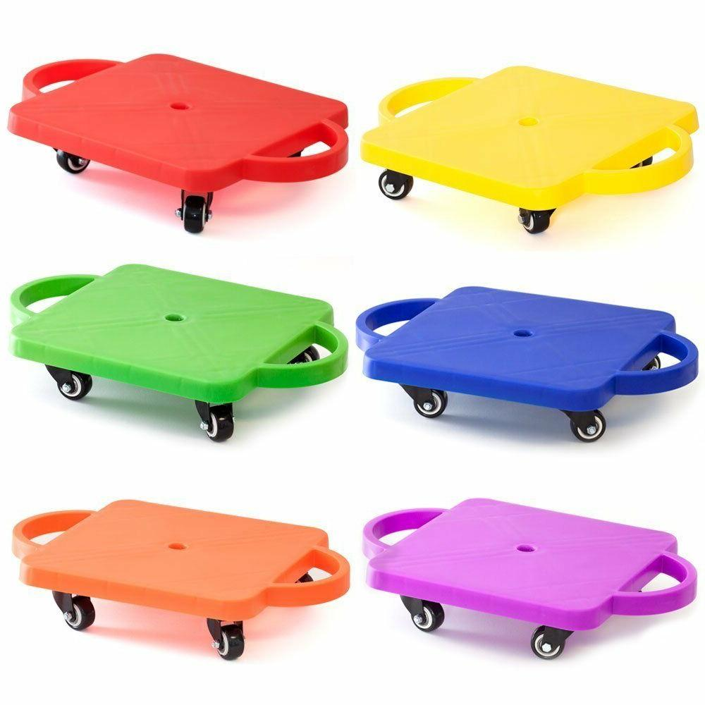 kids gym class plastic scooter board