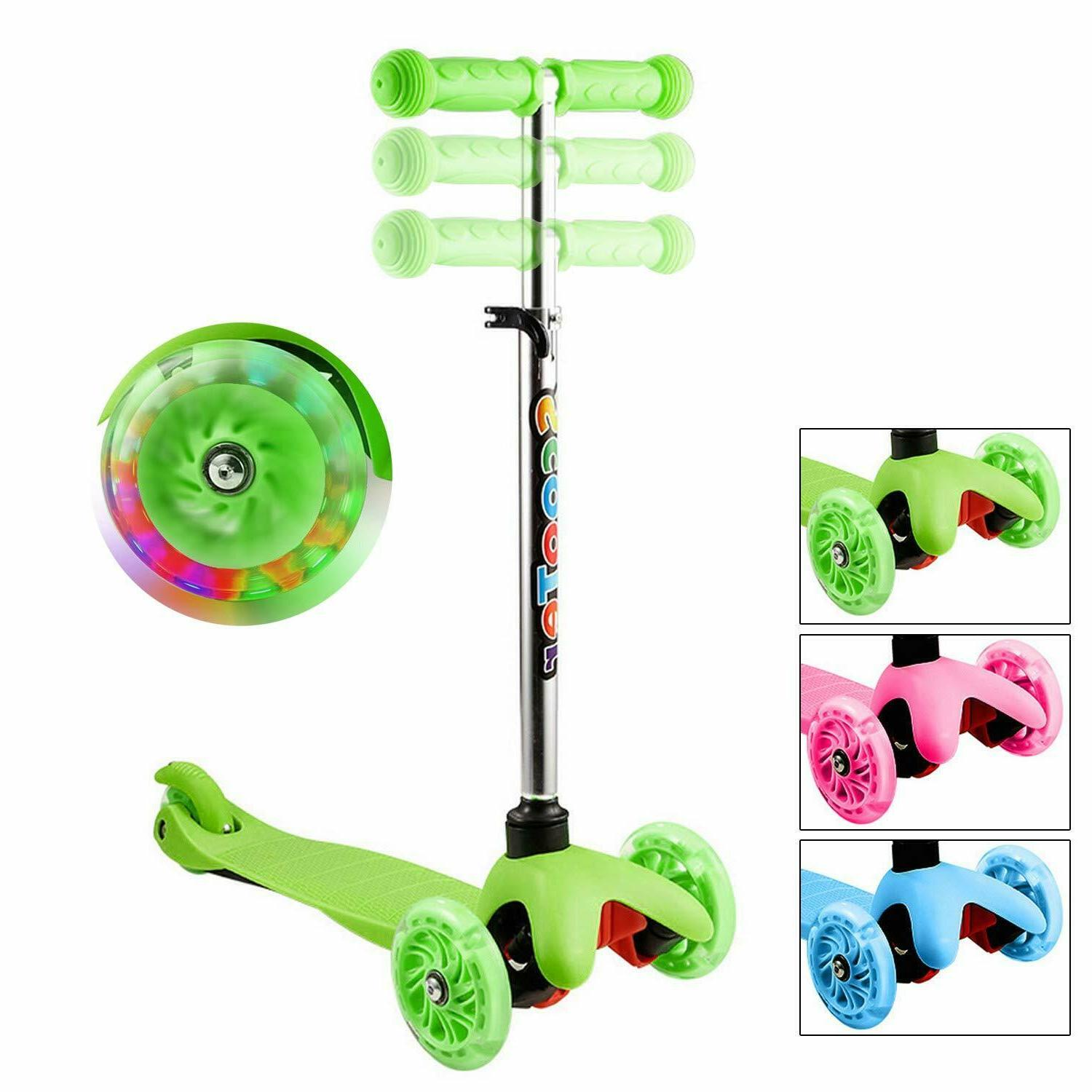 Scooters for Kids & Toddlers 3 Wheel Scooter Great for Girls
