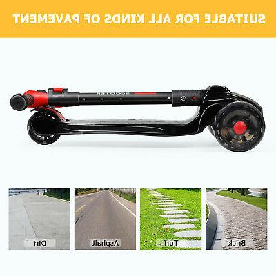 Flash Light 3 Wheels Scooter
