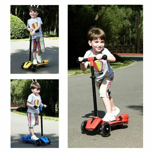 Kids Scooter for Age Kick Scooters 3 Sprayer