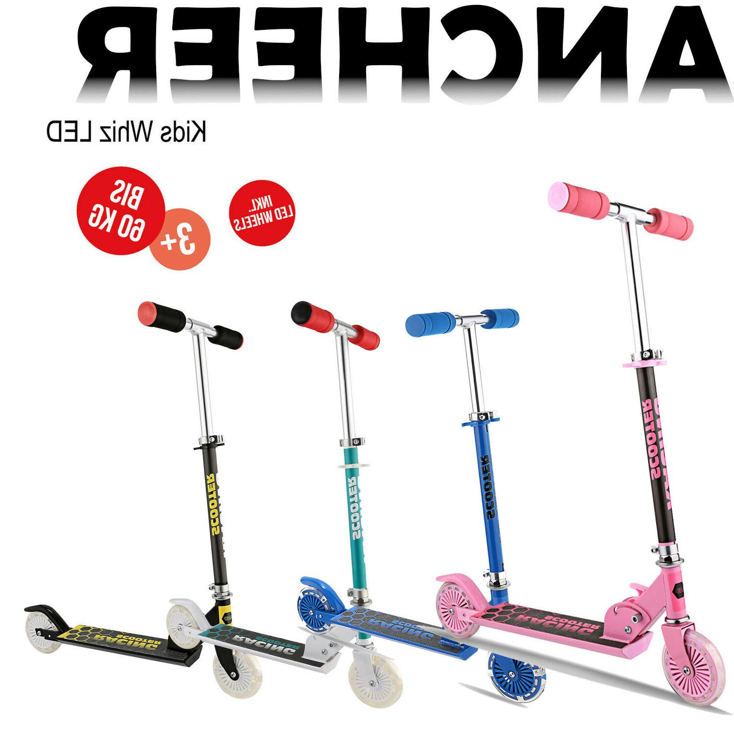 Kids Scooter Deluxe for Toddler Adjustable Kick Scooters Gir