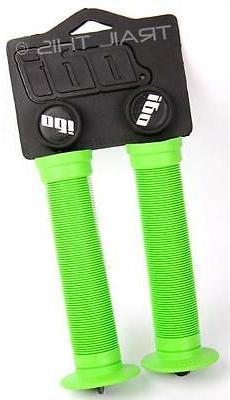 ODI Longneck ST Single-Ply BMX Grips: Green