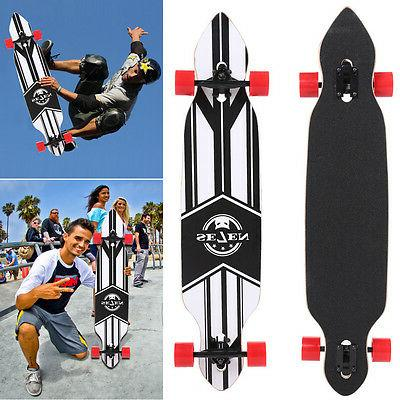 Maple Wood Skateboard Longboard Skate