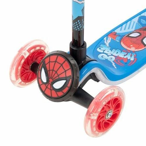Marvel Spider-Man 3-Wheel Scooter for by Huffy Indoor Kids