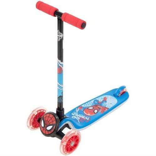 Marvel Spider-Man 3-Wheel for by Indoor Outdoor Kids New