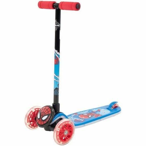 marvel spider man 3 wheel scooter