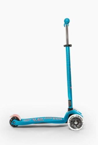 LED 3-Wheeled Scooter for Ages Aqua
