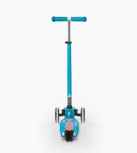 Micro Kickboard Maxi LED 3-Wheeled for Aqua