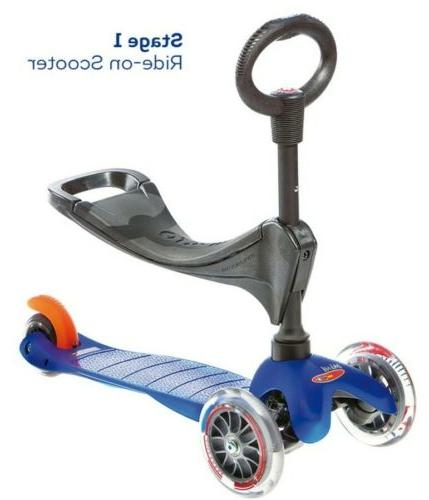 Micro 3in1 3-Stage Micro Scooter Toddler Blue