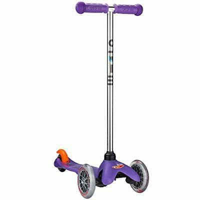 micro mini original kick scooter purple three