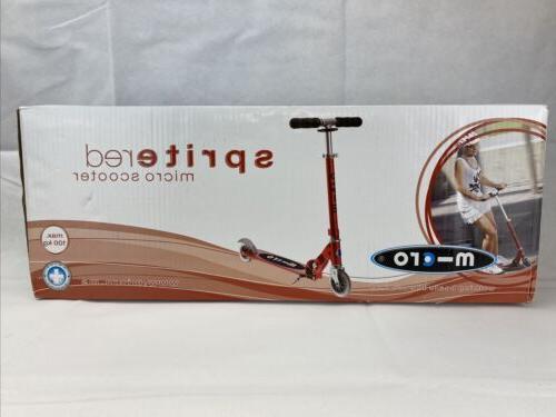 micro sprite 2 wheeled smooth gliding foldable