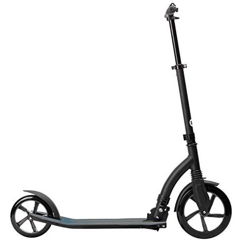 Jetson Midnight Scooter with Wide Wheels, Easy Fold Lightweight and Portable, Adults Teens
