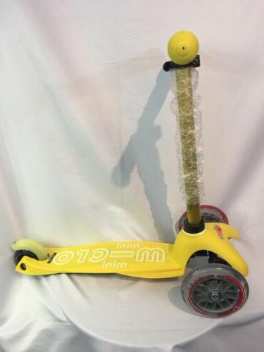 mini deluxe kick scooter adjustable t bar