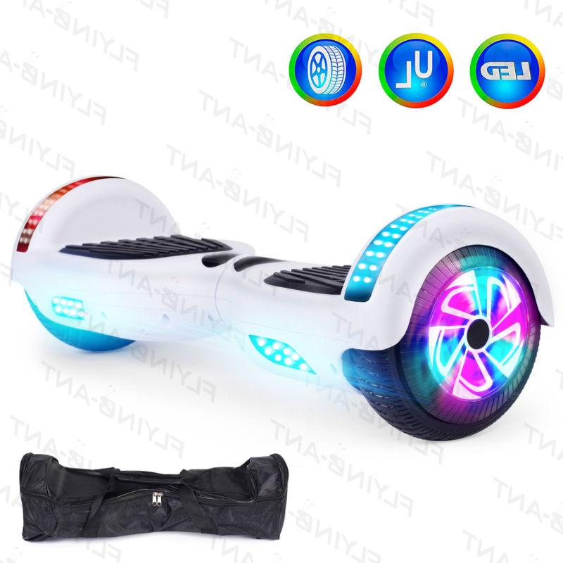 New 6.5 Hoover Chrome Hoverboard Self Balancing