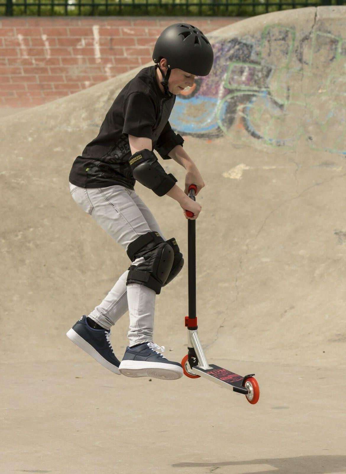 new carve elite stunt scooter black