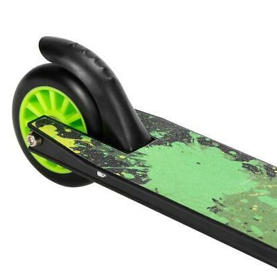 Pro Beginner Freestyle Sports Kick Scooter 8 Green