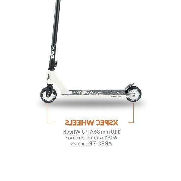 Xspec Stunt Scooter w/ Aluminum Deck,