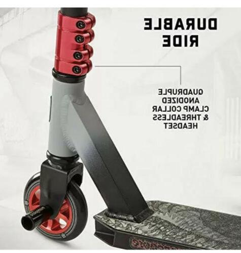 Mongoose 100 Pro Freestyle Scooter Red/Black