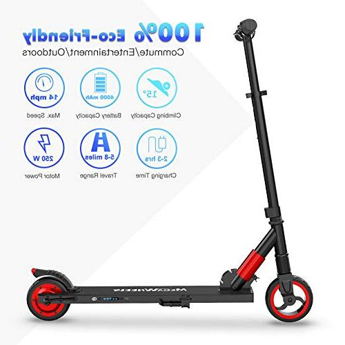 MEGAWHEELS S1 Electric Scooter - Lightweight, Foldable, Electric Scooter Up to Teens Kids