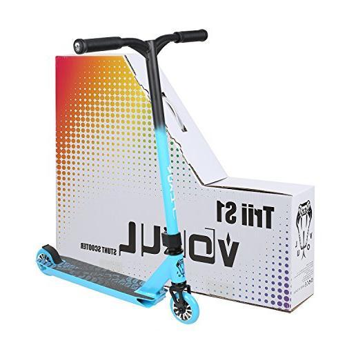 VOKUL Stunt Scooter Best Entry Level Pro Scooter 7 Up CrMo4130 Chromoly Bar,Reinforced Color Design