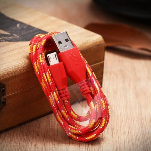 For Braided Fabric USB Data&Sync Cable sx16