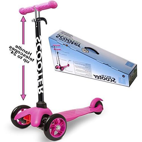 Den Kids - Kick n Go, 2 Turn, Brake-Pink