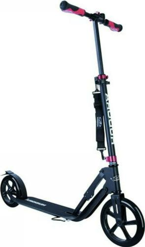 Hudora City Push Kick Scooter Big Wheel 230 Black 14235 Genu