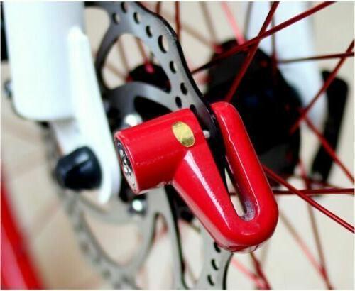 Scooter Bicycle Motorcycle Safety Disk Brake Lock