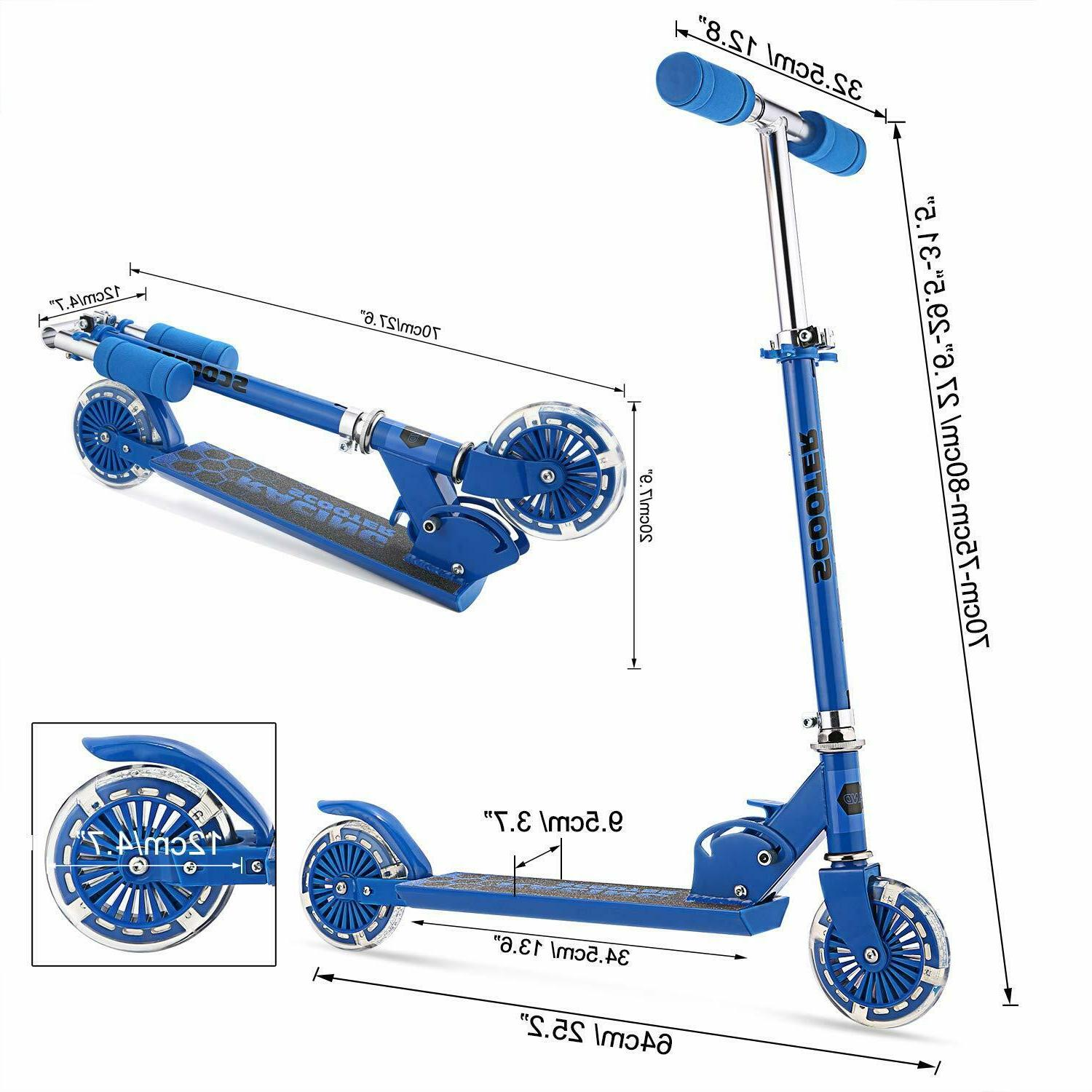 Scooter for Kick Scooters w/ 2 Kids Gift