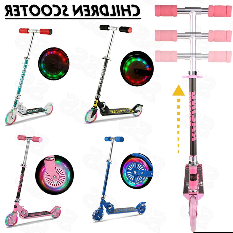 Scooter Adjustable Kick w/ Wheels Kids