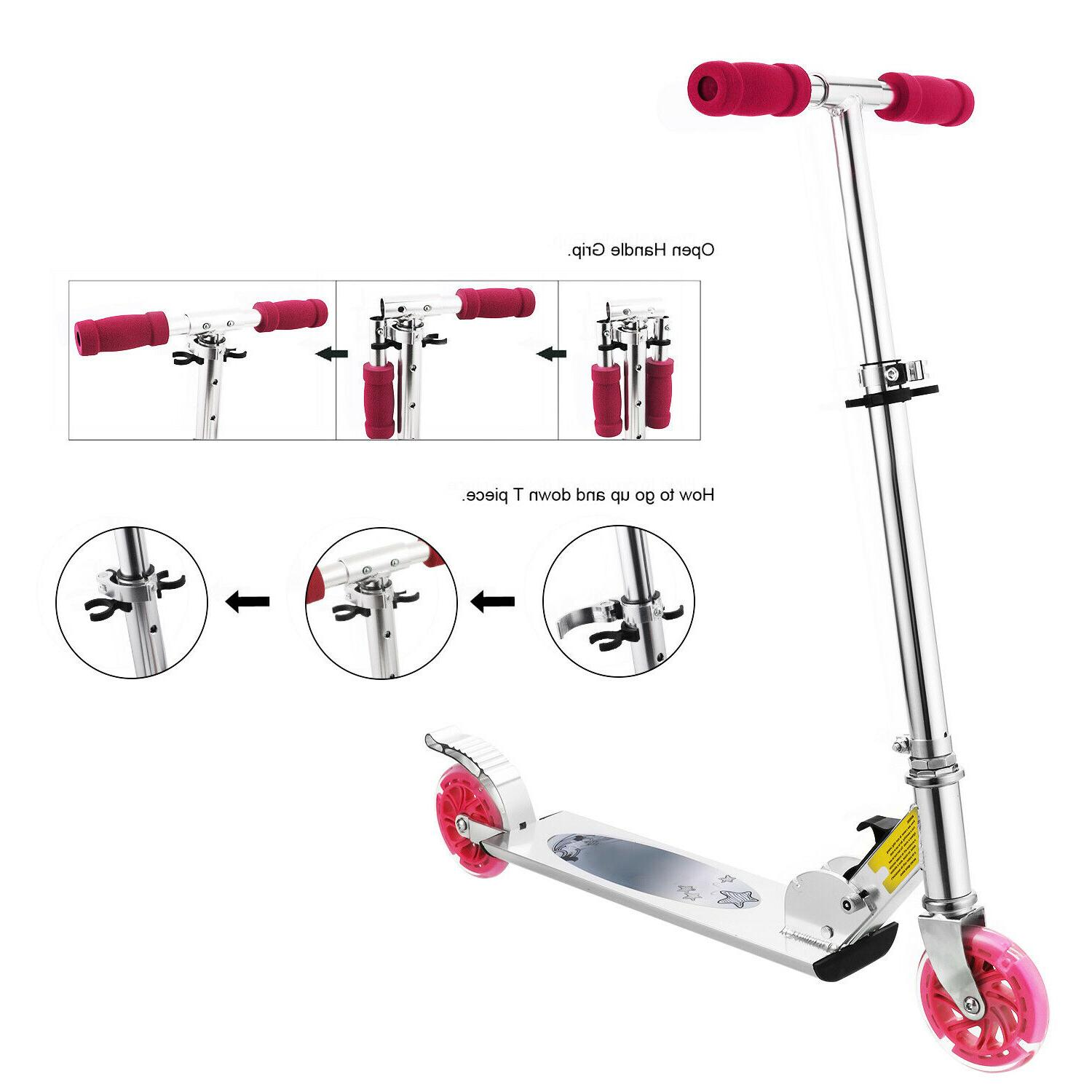 Scooter Deluxe for 2 LED Adults