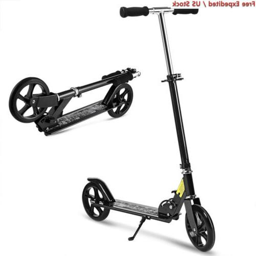 scooter for adult youth kids foldable adjustable