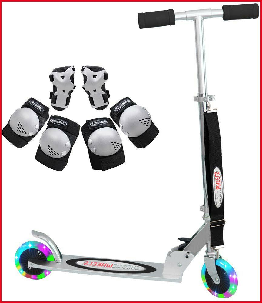 ChromeWheels Deluxe Scooters