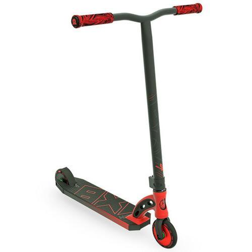 scooter vx8 pro red black kick stunt