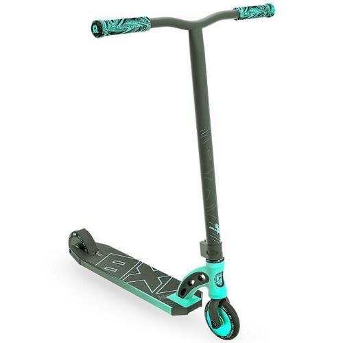 scooter vx8 pro teal black kick stunt