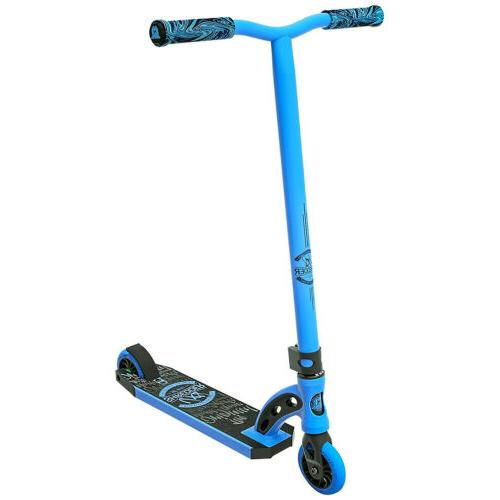 scooter vx8 shredder blue black kick stunt