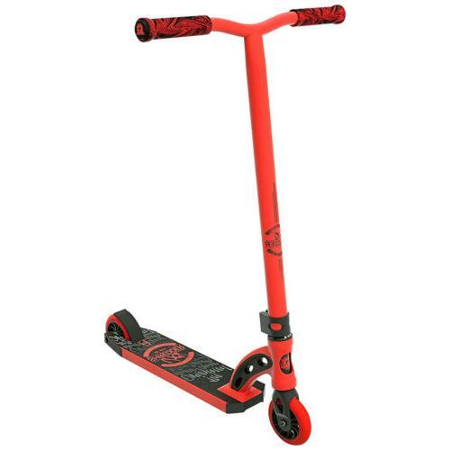 scooter vx8 shredder red black kick stunt