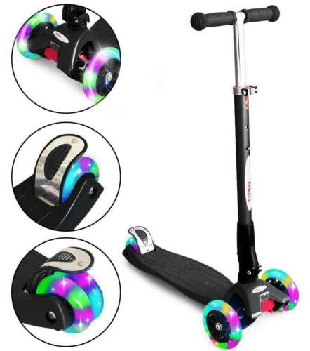 scooters for kids deluxe kick scooter foldable