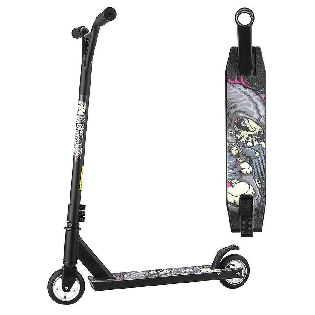 Outdoor Extreme Scooter Kick Push T-Bar Bike for Age 7 Up Ki