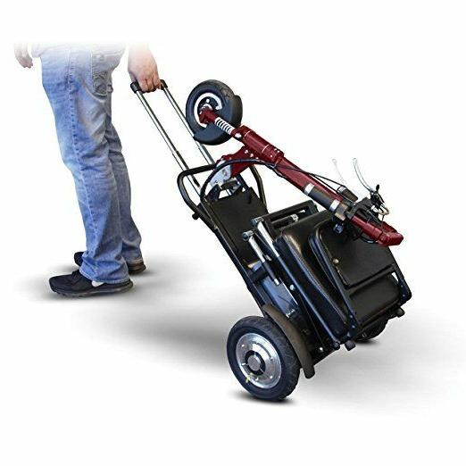 E-Wheels SPEEDY Portable Recreational Mobility Scooter EW-01
