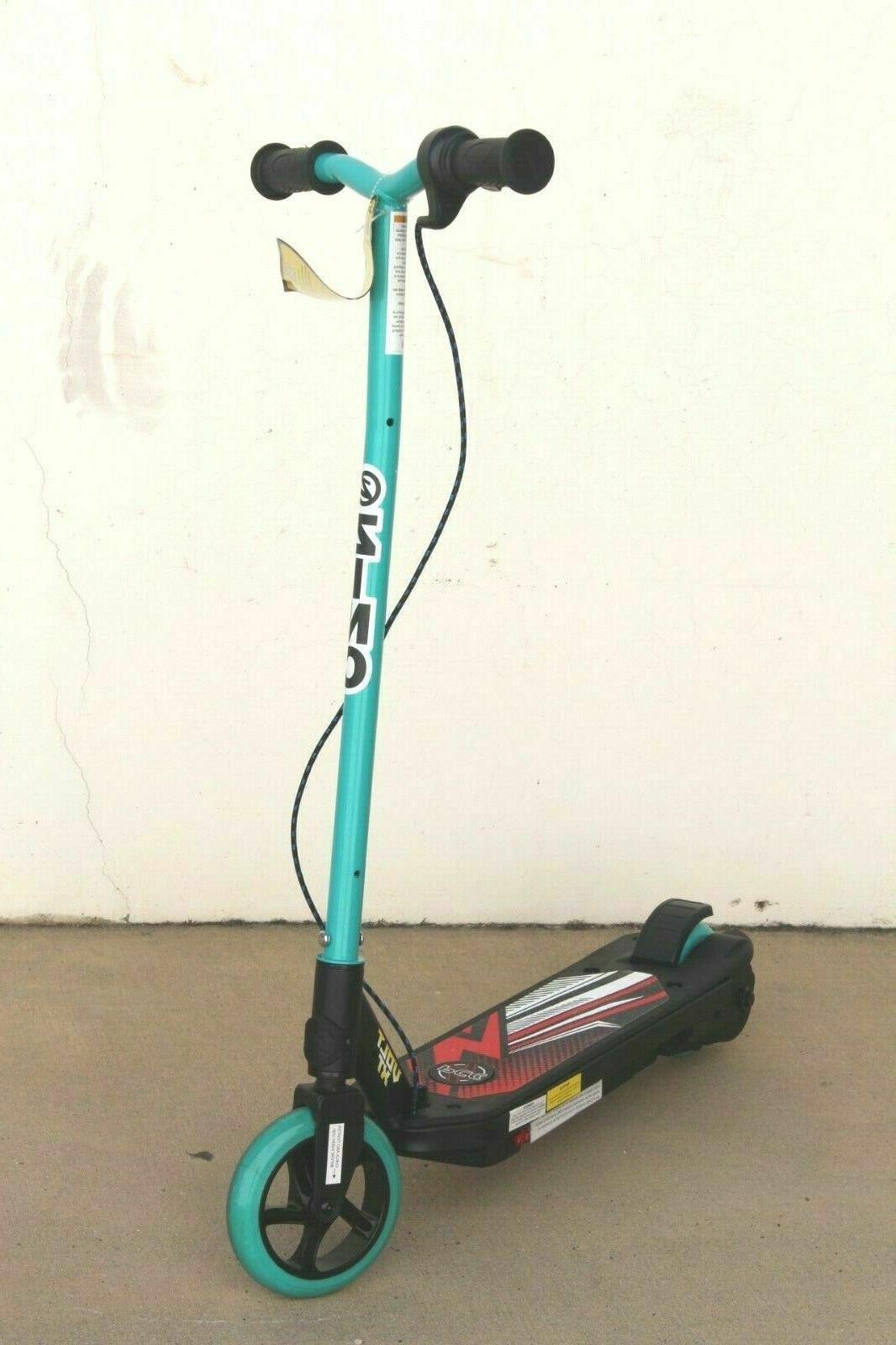 volt xt kids electric scooter chain drive