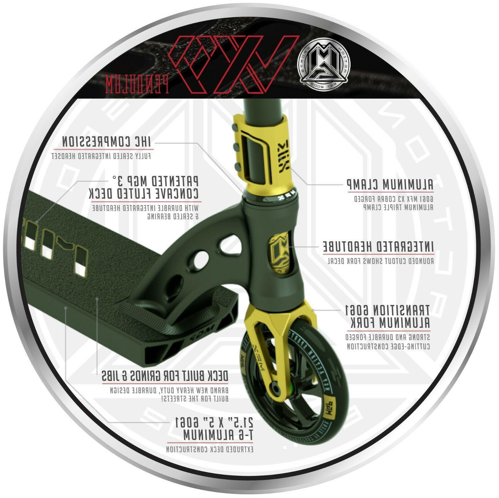 Madd Gear VX9 Pendulum Complete Stunt - Black
