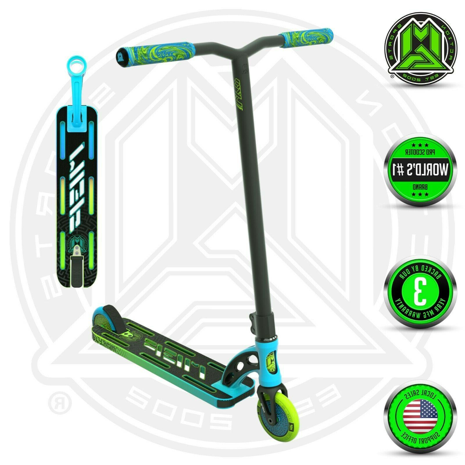 vx9 pro complete stunt scooter blue