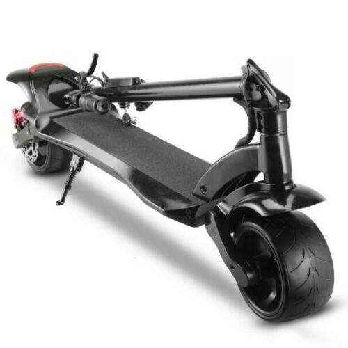 WIDE WHEEL 500W 48V Folding Electric Kick Max Speed