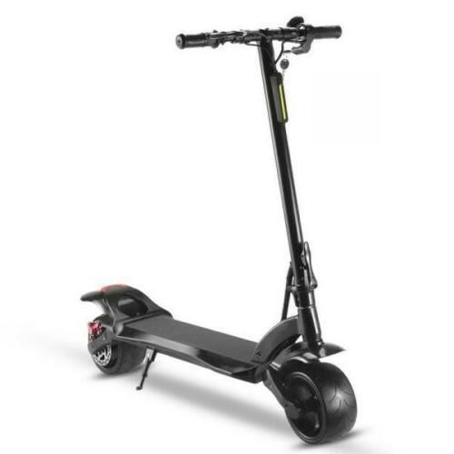 WIDE WHEEL W1 500W Folding Kick Scooter Max Speed