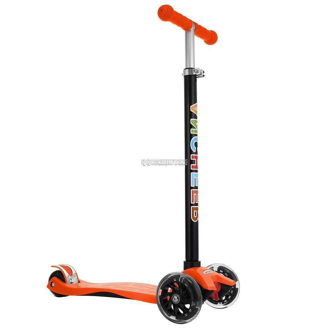 Xmas Gift Kids Scooter Deluxe Kick N LED