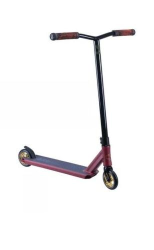 z250 pro complete kick scooter colors red