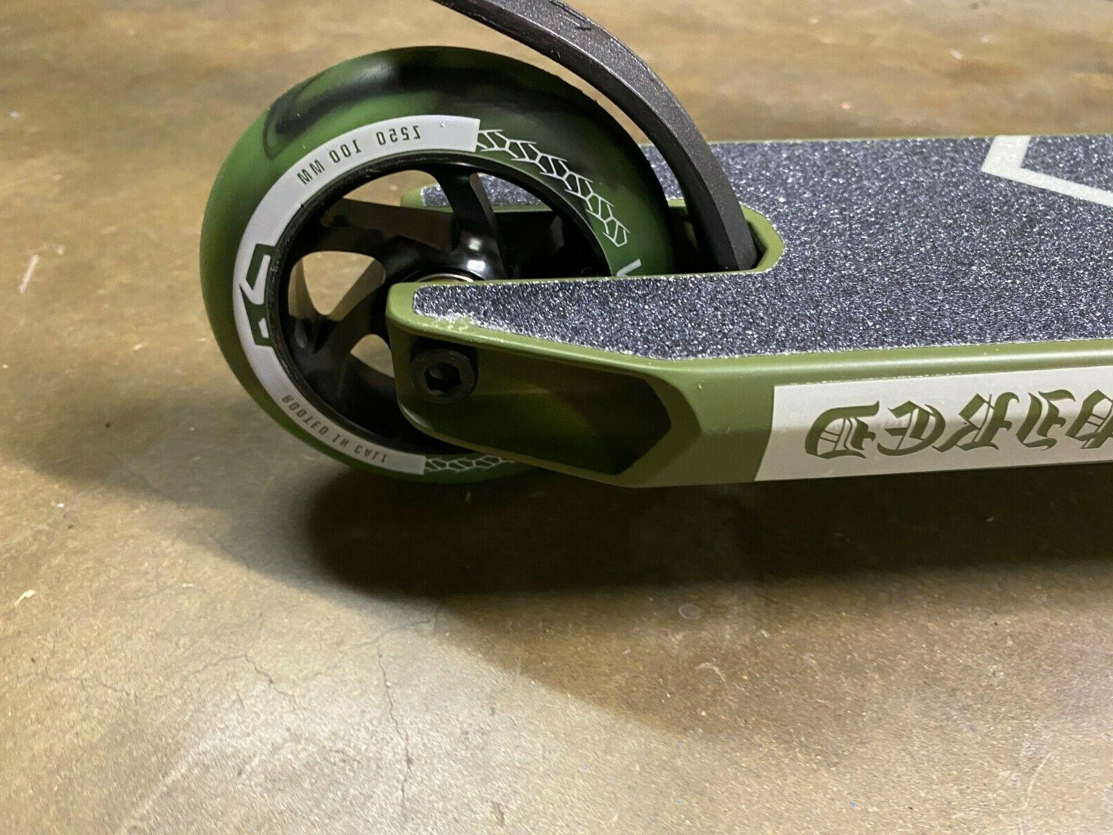 Fuzion Z250 Pro Scooter Complete - Olive Paint