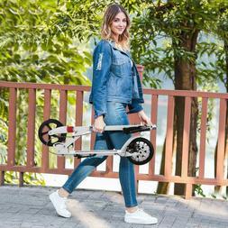 Lightweight Kick Scooter 2 Wheel Folding Adult/Kids Ride Adj